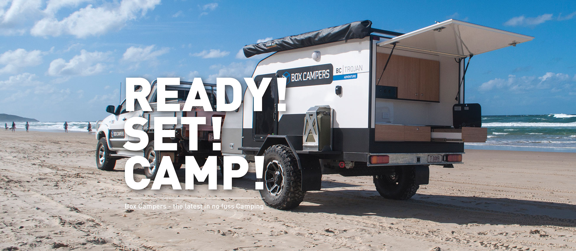 Ready! Set! Camp!  Box Campers - The latest in no fuss camping